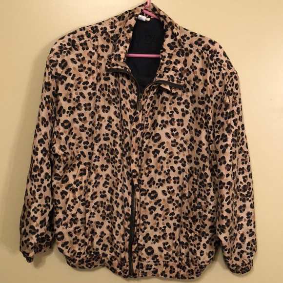 Fuda International Jackets & Blazers - Fuda International Cheetah Jacket